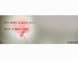 Just A Bad Day Cover