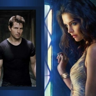 Katie Holmes Tom Cruise Wallpaper