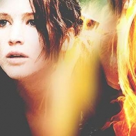 Katniss The Hunger Games Cover