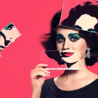 Katy Perry As Elizabeth Taylor