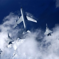 Kc 135 Stratotanker F 15 Eagles Wallpaper