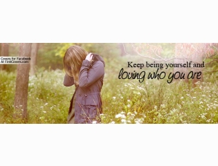 Keep Being Yourself Cover