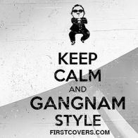 Keep Calm And Gangnam Style Cover