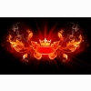 King Of Fire Design Hd Wide Wallpapers