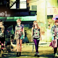 Korean Group 2ne1 Wallpaper