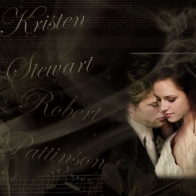 Kristen Stewart And Rob Pattinson Wallpaper