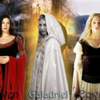 Ladies Of Middle Earth Wallpaper