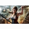 Lady Lara Croft Hd Wallpapers