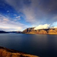 Lake Hawea New Zealand