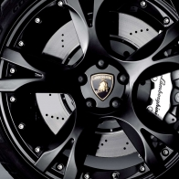 Lamborghini Black Rim Wallpaper