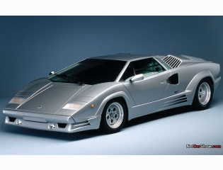 Lamborghini Countach 25th Anniversary Wallpaper