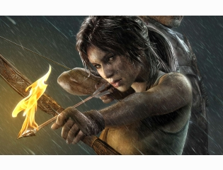 Lara Croft Tomb Raider 2013 Wallpaper