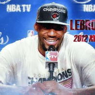 Lebron James Nba Champion Cover