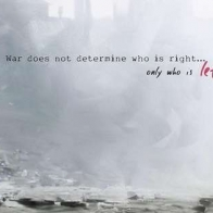 Left In War Facebook Timeline Cover