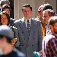 Leonardo Dicaprio Flocked By Fans After Filming A The Wolf Of Wall Streeta