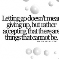 Letting Go Cover