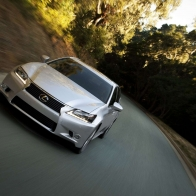 Lexus On Road Wallpaper
