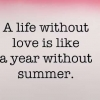 Download life without love is like a year without summer cover, life without love is like a year without summer cover  Wallpaper download for Desktop, PC, Laptop. life without love is like a year without summer cover HD Wallpapers, High Definition Quality Wallpapers of life without love is like a year without summer cover.