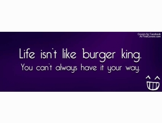 Like Burger King Cover