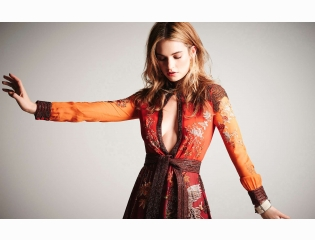 Lily James 2015