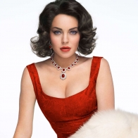 Lindsay Lohan As Elizabeth Taylor Movie Hd Wallpaper