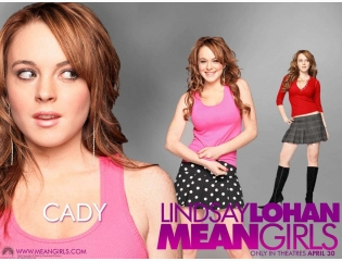 Lindsay Lohan Mean Girls Wallpaper
