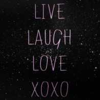 Live Laugh Love Xoxo Cover