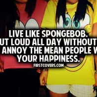 Live Like Spongebob Cover
