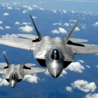 Lockheed F22 Raptor Air Superiority Fighter Wallpaper
