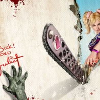 Lollipop Chainsaw Hack And Slash Wallpaper