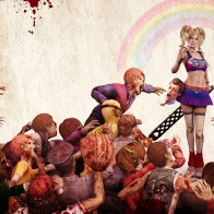 Lollipop Chainsaw Zombie Game Wallpaper