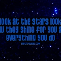 Look How They Shine For You Cover