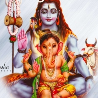 Lord Ganesh And Shiva