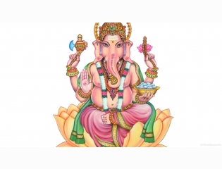 Lord Ganesha Desktop Hd Wallpaper