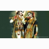 Lord Radha Krishna Desktop Wallpaper