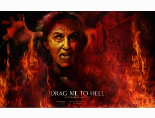 Lorna Raver In Drag Me To Hell Wallpaper