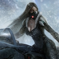 Lost Planet Snow Girl Wallpapers