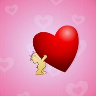 Love Heart Full Hd Wallpaper 5