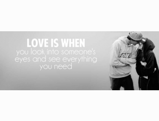 Love Is When Cover