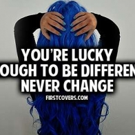 Lucky Enough To Be Different Cover