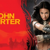 Lynn Collins In John Carter Wallpapers