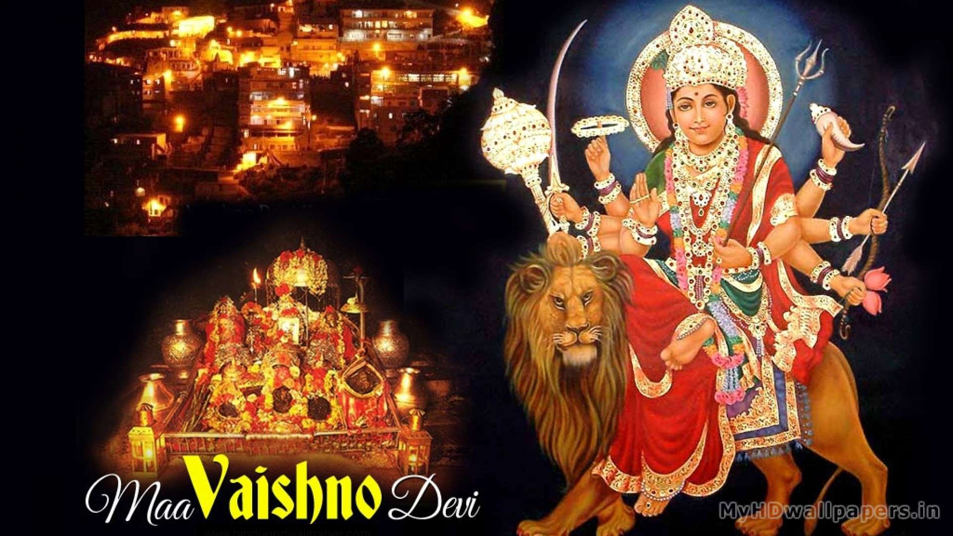 Wallpaper I Love You Maa : Maa Vaishno Devi Wallpapers For Desktop : Hd Wallpapers