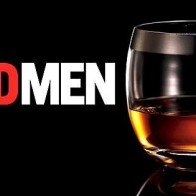 Mad Men Whiskey Glass Facebook Cover