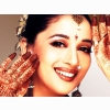 Madhuri In Hena Wallpaper