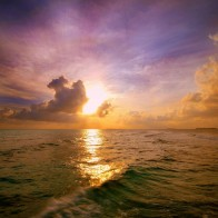 Maldivian Sunset Wallpapers