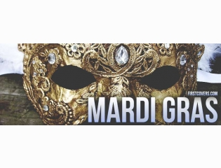 Mardi Gras Mask Cover