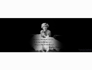 Marilyn Monroe Quote Cover