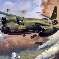 Martin B 26 Marauder Wallpaper