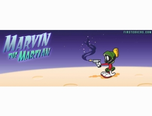 Marvin The Martian Cover