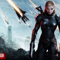 Mass Effect 3 Female Shepard Wallpaper